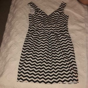 White House Black Market chiffon dress